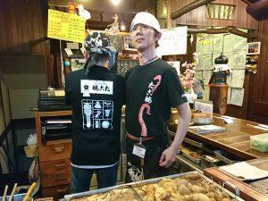 AirREXさんが作ってくれたのコラボTシャツ(モデル 松本&和田)