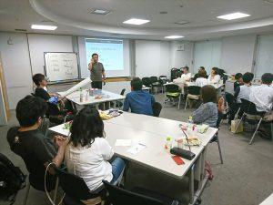 第2回が9月なので、松野先生が、それまでに取り組む宿題について話されています