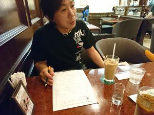 5月の店長面談の和田店長