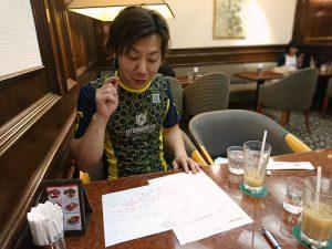 和田店長と行動探求のセッション