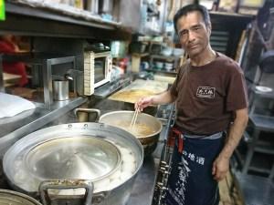 新梅田食道街 たこ梅 分店の森口さん