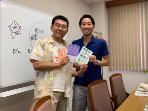 ダイアモンドメディア代表取締役社長 武井浩三さんと記念撮影