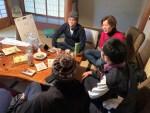 1月の山添村の野菜部 後編~畑作業の後は古民家の和室で会議です~