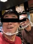 お店で「透明マスク」のテスト運用はじめます