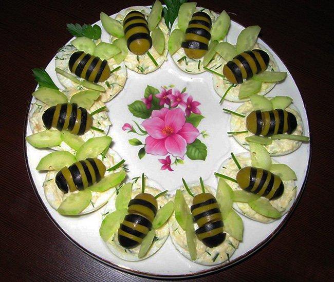 пчелки из маслин