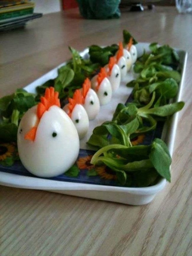 цыплята из яиц