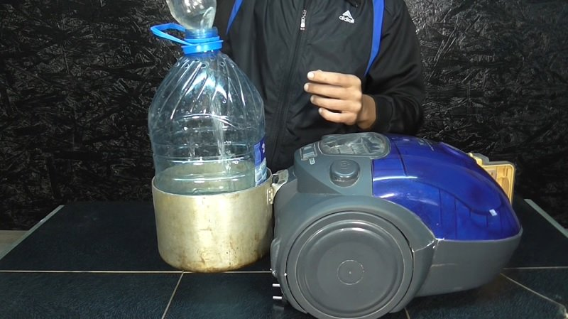 водяной фильтр для пылесоса своими руками