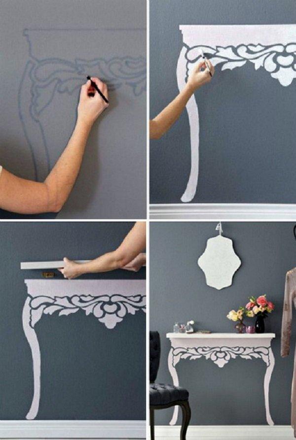 идеи декора стен своими руками