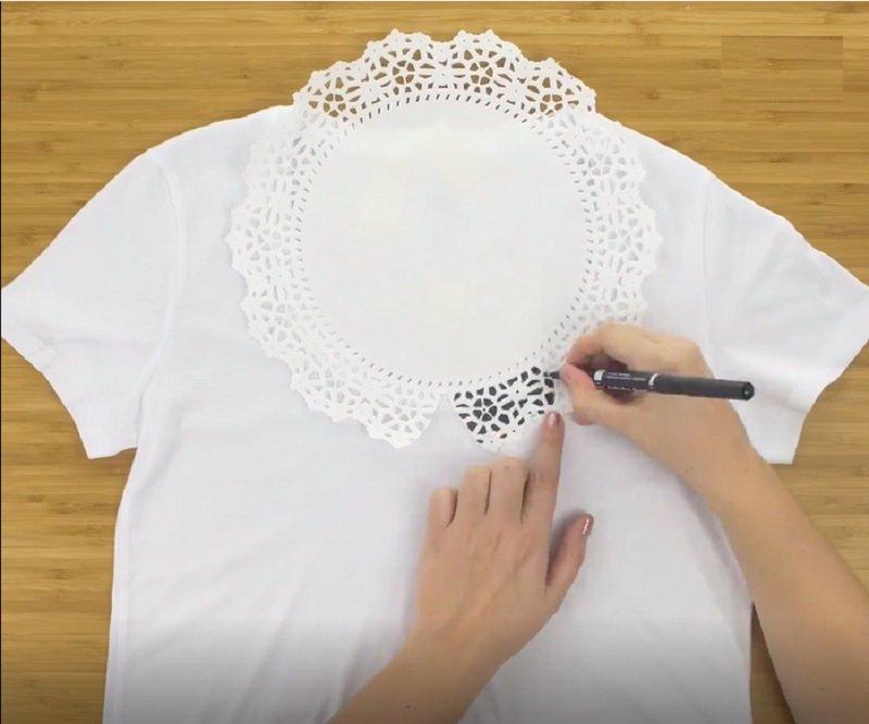 сделать футболку