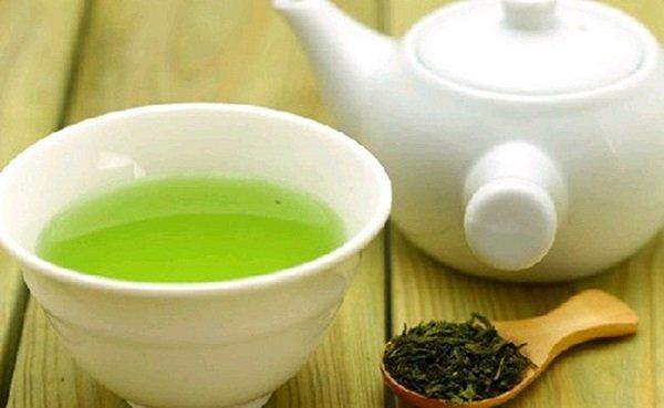 зеленый чай для ресниц