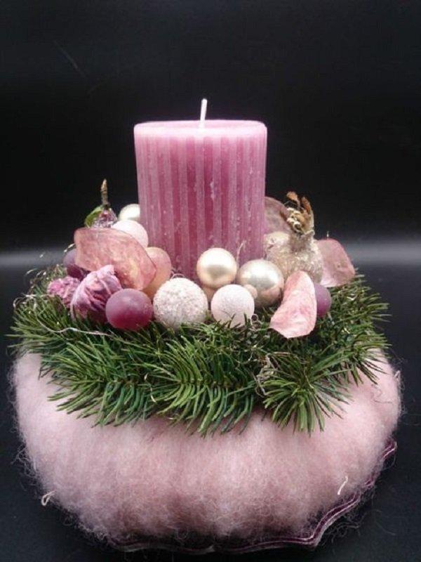как украсить свадебные свечи своими руками
