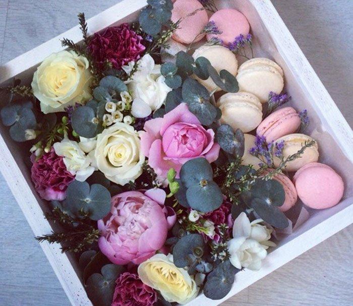 красивое оформление букетов цветов