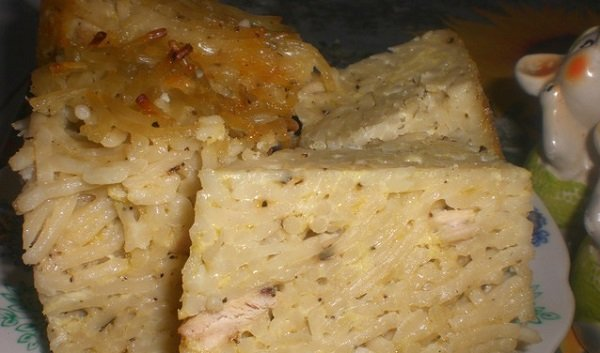 макаронная запеканка рецепт с фото