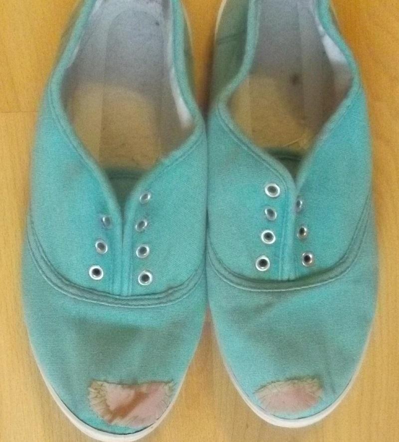 как починить старую обувь