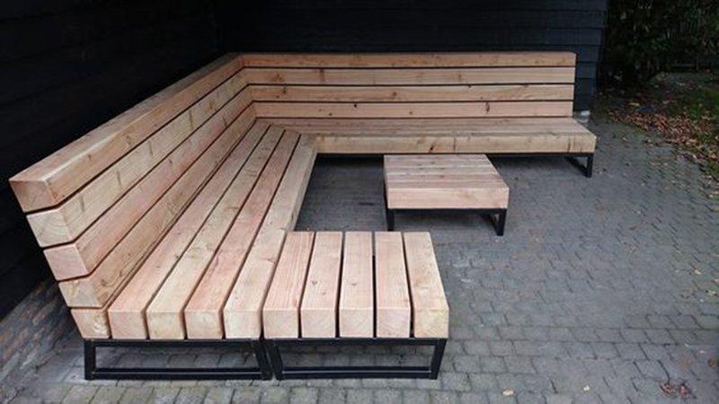 уличная мебель из алюминия