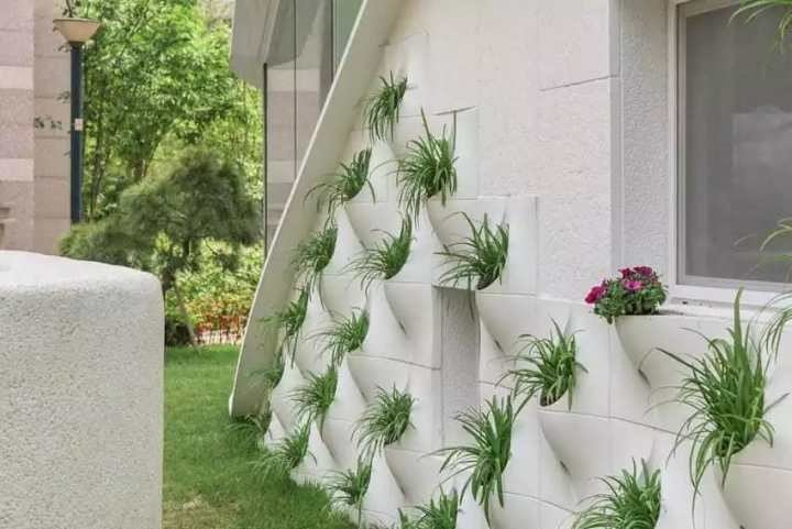 Стена цветя декорация