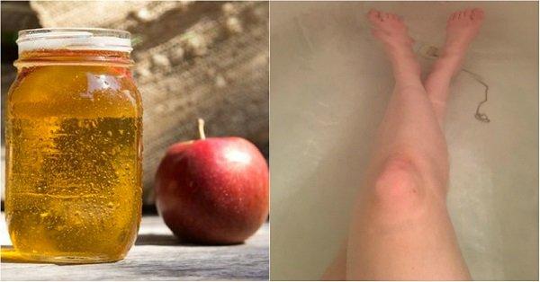 ванна с яблочным уксусом