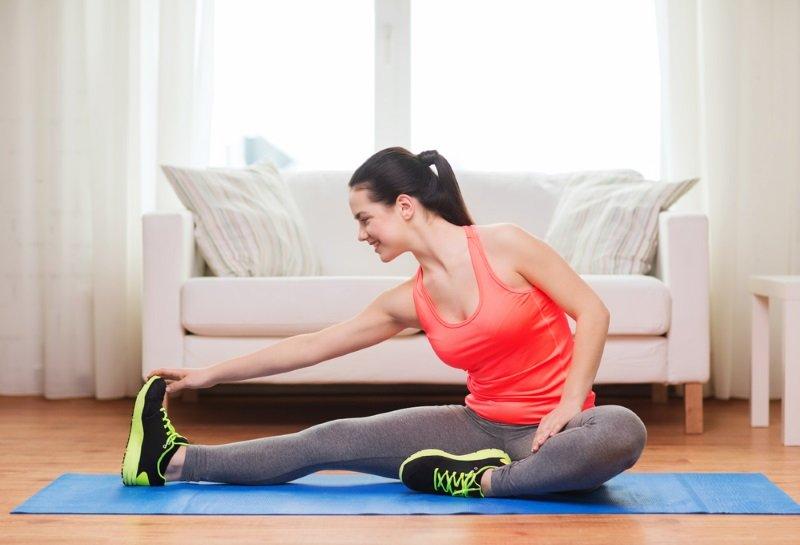упражнение для ног лежа
