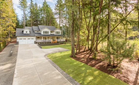 Elevated pole photography for real estate | Taku Homes