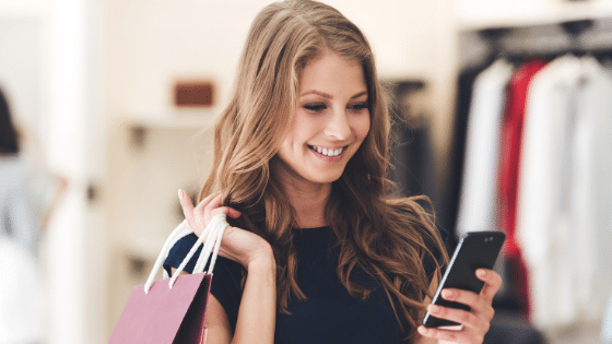 mobile application in-store