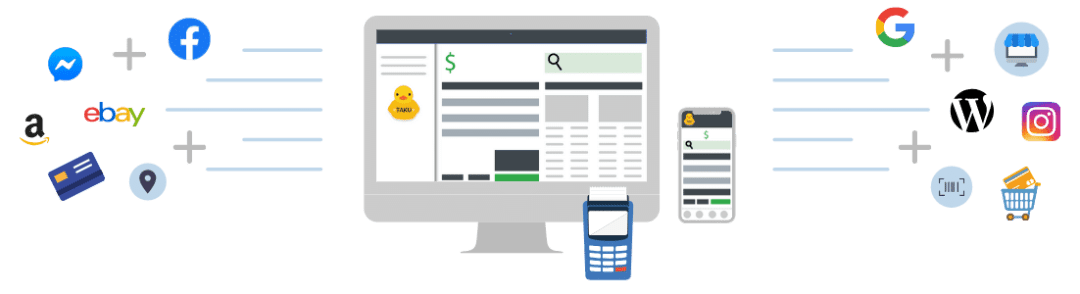 TAKU Retail POS Integrated Solution