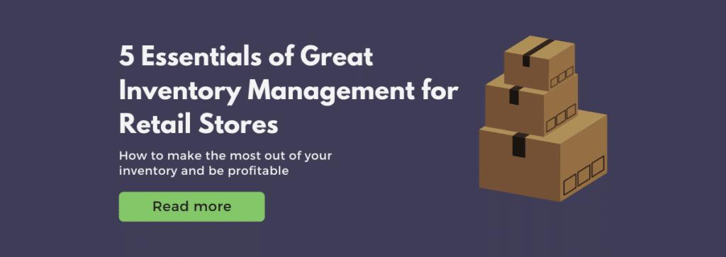 inventory management essentials retail
