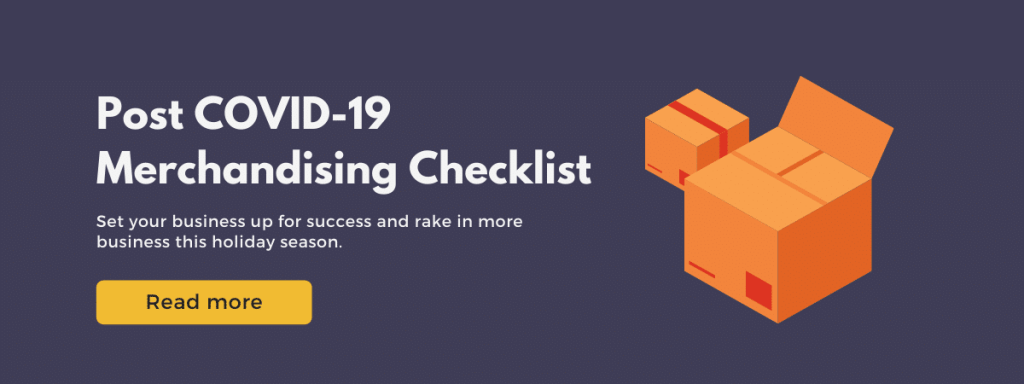 post covid merchandising checklist