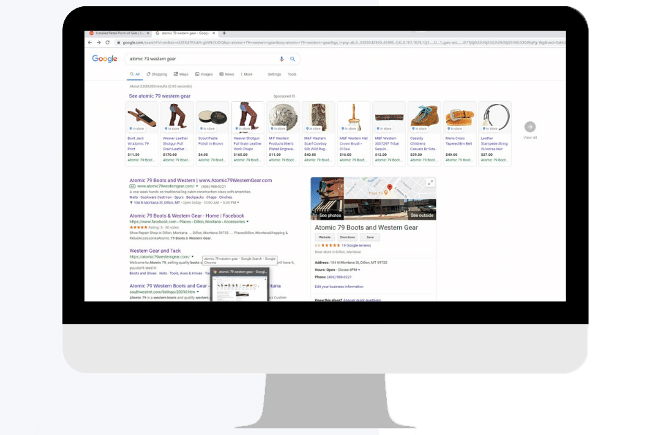 Sell More: A Google Integration for your Retail POS