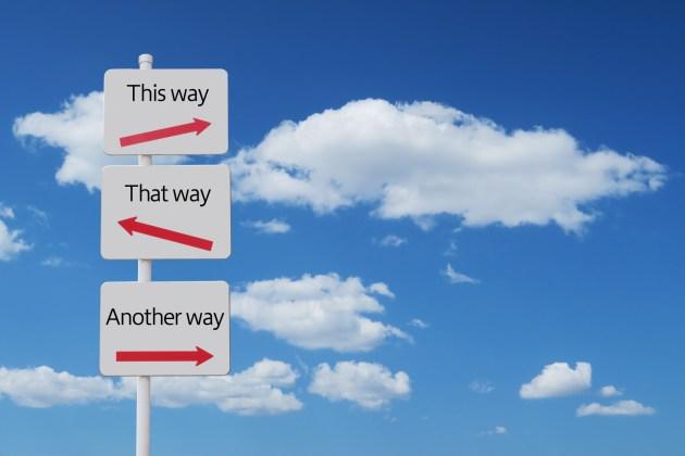 人生には、自ら進む道を決めなければならない時がくる。