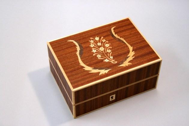島田晶夫の木象嵌