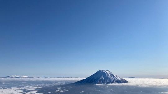2021年1月24日 ニセコアンヌプリ山頂アタック【雲海の羊蹄山】