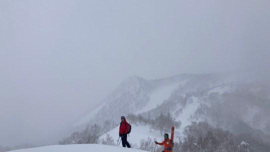 富良野スキー場でサイドカントリーを楽しんできました。【ルート情報あり】