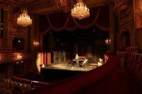 シェーンブルン宮殿内のシアターにて