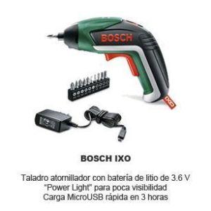 Bosch IXO - taladro atronillador bateria de litio 3.6 V