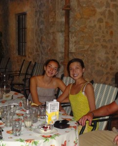 With Marga in Mallorca