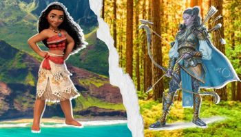 Moana Dungeons and Dragons