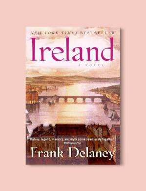 Books Set In Ireland  Irish Novels   Tale Away Books Set In Ireland   Ireland by Frank Delaney  For more books that  inspire travel