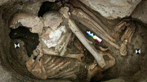 چاتل ہویوک سے ملنے والی یہ قبر اولین مذہب کی موجودگی کا اشارہ کرتی ہے