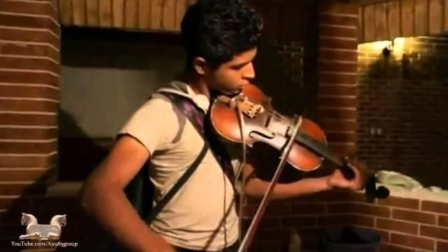 2 ویلون نواختن بسیار زیبا توسط یک جوان ایرانی – ویدیو