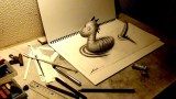 3D Drawing -How to draw 3D ART