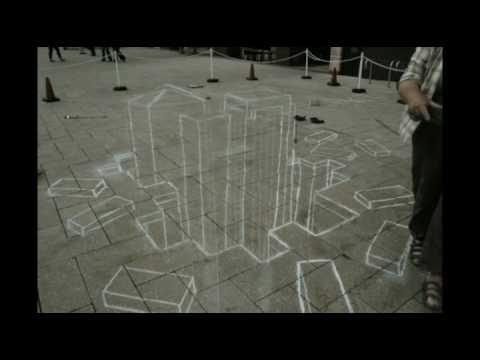 Anybody can do 3D Street Art!!