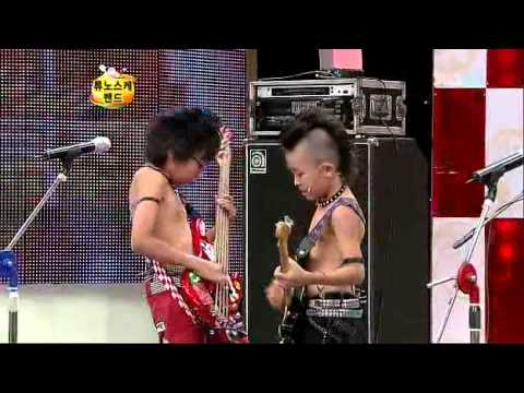 Japanese kids band on Korean TV 1/2(Eng Subbed)