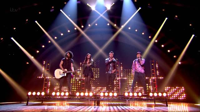 LUMINITES  – Britain's Got Talent – Semi Final Day 3 (singing Bee Gees)
