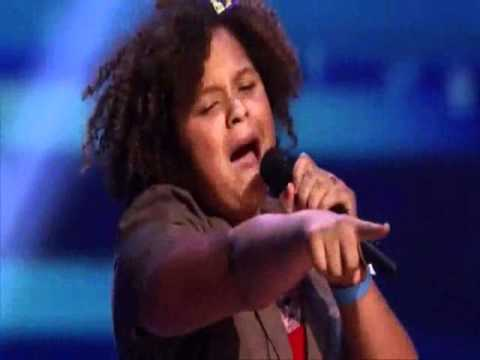 Rachel Crow singing Duffy – Mercy