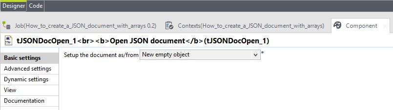 How to built a JSON string with arrays in Talend - TalendHowTo