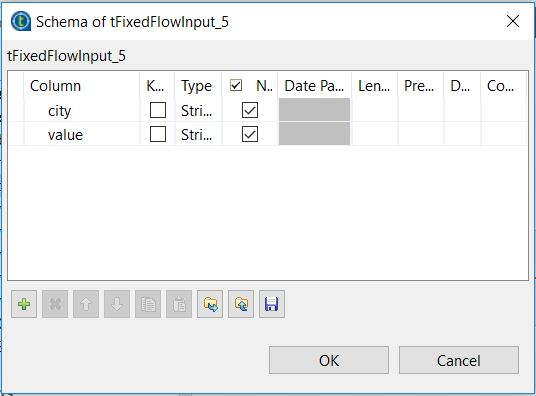 Split files tFixedFlowInput2