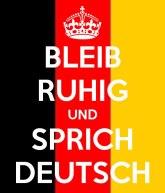 deutsch reden
