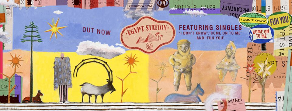 Paul McCartney's Egypt Station