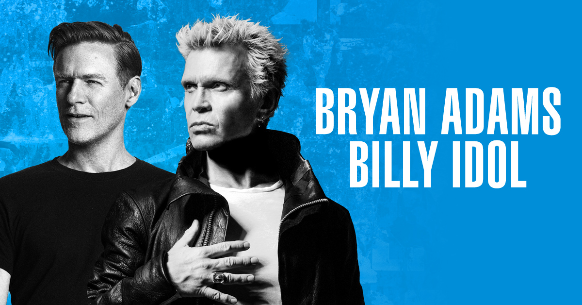 Bryan Adams & Billy Idol co-headlining tour