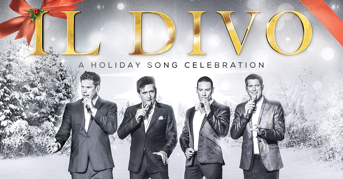 Il Divo - photo provided by Live Nation